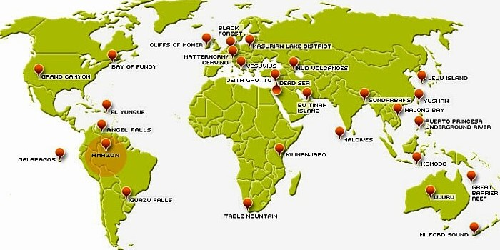 Die 7 Weltwunder Der Natur